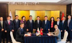 Phó Thủ tướng Vương Đình Huệ chứng kiến Tập đoàn An Phát Holdings đẩy mạnh hợp tác nghiên cứu và sản xuất nguyên liệu sinh học phân hủy hoàn toàn AnBio tại Hàn Quốc